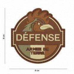 Patch für Armeepatches mit 3D-PVC-Verteidigung und niedrigem Land (101 Inc)