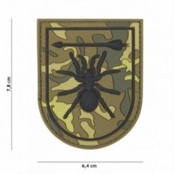 Patch 3D PVC Special Forces spider OD (101 Inc)