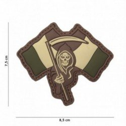 3D PVC Patch French Reaper Low Visibility (101 Inc)