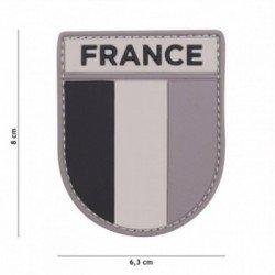 Patch 3D PVC Armee Française Gris (101 Inc)