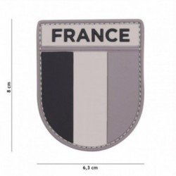 PVC 3D Patch French Grey Armee (101 Inc)