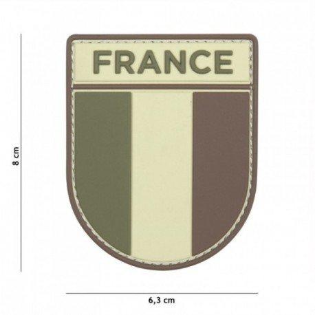 101 INC Patch 3D PVC Armée Française Multicam AC-WP4441305534 Equipements