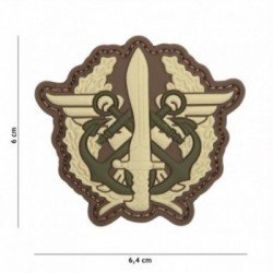 PVC 3D Patch Marine Fusilier Drago Multicam (101 Inc)