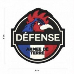 Patch 3D PVC Defense Armee de Terre (101 Inc)