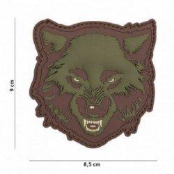 Patch 3D PVC Wolf OD (101 Inc)