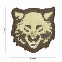 PVC 3D Patch Wolf Coyote (101 Inc)