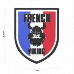 "Patch 3D PVC Bouclier ""French Viking"" (101 Inc)"