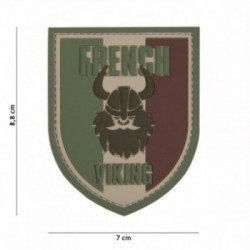 3D Patch PVC Viking Shield French Low Visibility (101 Inc)
