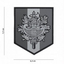 Patch 3D PVC Faisceau Republique Francaise Gris (101 Inc)