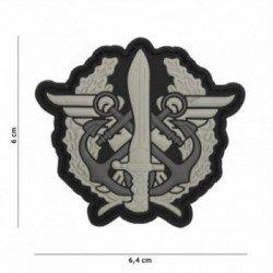 101 INC Patch 3D PVC Fusilier Marin Drago Gris (101 Inc) AC-WP4441307070 Patch en PVC