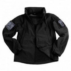 CYMA Soft Shell Jacket Black (101 Inc) HA-WP129840BK BDU OD / BLACK / Coyote