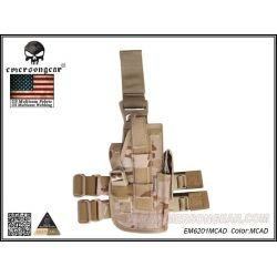 Holster Cuisse Multicam Arid Droitier (Emerson)
