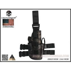 Holster Thigh Multicam Black Hand Handed (Emerson)