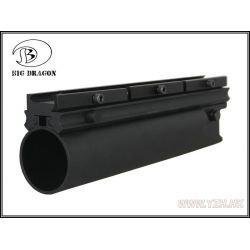 "Lanza de granada 40 mm XM203 9 ""negro (Emerson)"