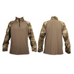 WE Swiss Arms Combat Shirt A-Tacs AU HA-CB610174 Gears Sacrifié