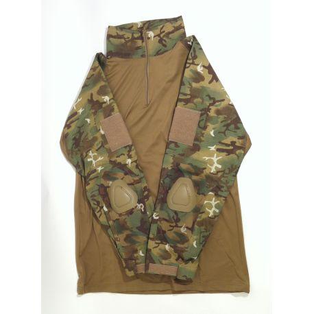 WE Combat Shirt Arid Woodland XL (Swiss Arms) HA-CBSHAWLXL Gears Sacrifié