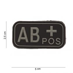 3D PVC Bloody AB + Black Patch (101 Inc)