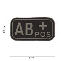 3D PVC blutiger AB + schwarzer Patch (101 Inc)