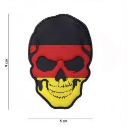 3D PVC Skull Flag Germania Flag Patch (101 Inc)