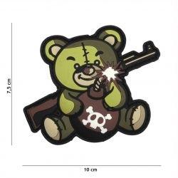 Patch 3D PVC Terror Teddy OD (101 Inc)
