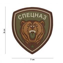 Patch 3D in PVC con orsetto russo di Spetznaz (101 Inc)