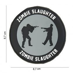 Patch 3D PVC Zombie Slaughter (101 Inc)