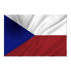 101 INC Drapeau Republique Tcheque 150x100 cm (101 Inc) AC-WP447200070 Drapeau