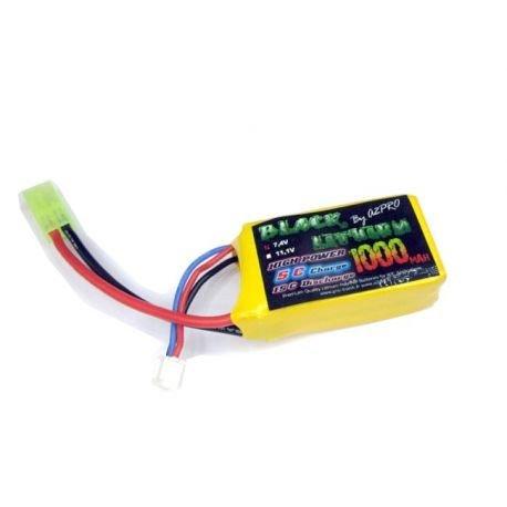 Batterie LiPo 7,4v PEQ 1000 mAh (Gunpowder) AC-GP9100022 Batterie LiPo 7,4v