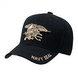 Casquette Baseball Noir Navy Seals