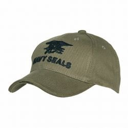 101 INC Casquette Baseball Navy Seals OD (101 Inc) HA-WP215150205OD Uniformes