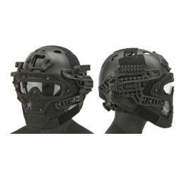Helm / Maske G4 PJ mit Zubehör Schwarz (Emerson)