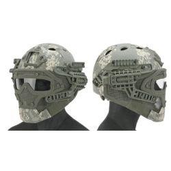Emerson Helm / Maske PJ mit ACU-Zubehör (Emerson) AC-EMEM9197L Ausrüstung
