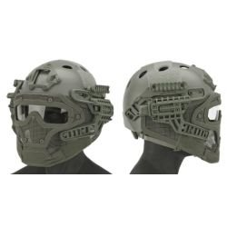 Emerson Helm / Maske PJ mit Laubzubehör (Emerson) AC-EMEM9197C Ausrüstung