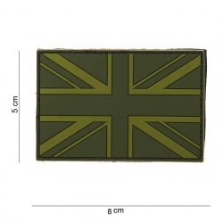 Patch PVC 3D Anglais Union Jack OD (101 Inc)