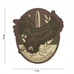 Patch 3D PVC Forces Speciales Allemande (101 Inc)