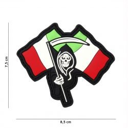 Parche de PVC 3D Reaper italiano (101 Inc)