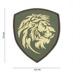 Patch 3D PVC Dutch Lion OD (101 Inc)