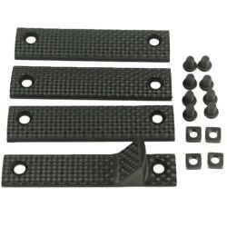 Emerson Cache Rail (Set de 4pcs) 110mm URX Noir (Emerson) AC-TD297BK Accessoires