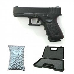 Pack G17 Ressort Metal Noir w/ Billes + Malette Offertes (Galaxy G15) PK-GAG15MAL1CB600W Pack