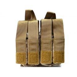 PANTAC Poche Chargeur M4 (x2) + Pistol (x4) AOR1 (Pantac) AC-PTPHS54BDDA Poche Pistolet
