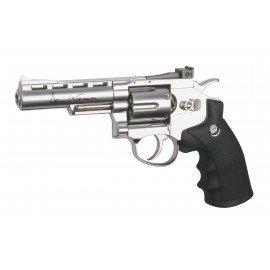 Dan Wesson 4 'Revólver cromado (ASG 16181)