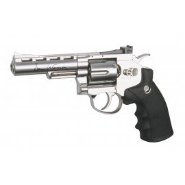 "Revolver Dan Wesson 4"" Chrome Co2 (ASG)"