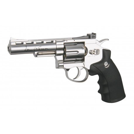 replique-Revolver Dan Wesson 4' Chromé (ASG 16181) -airsoft-RE-AS16181