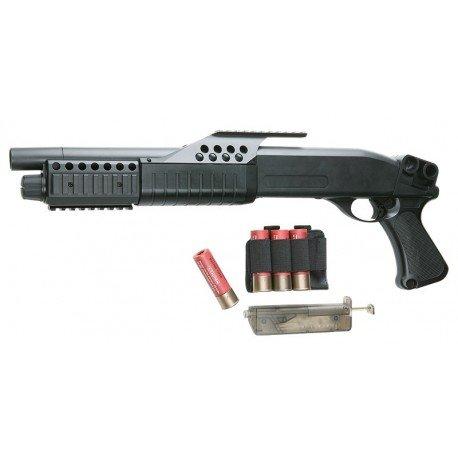 WE Fusil Pompe Franchi Tactical (ASG 15913) RE-AS15913 Répliques Fusil à Pompes