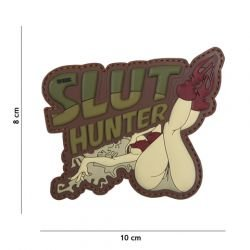 Patch 3D PVC Slut Hunter OD (101 Inc)