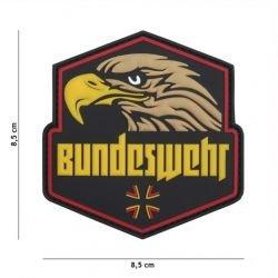 Parche 3D Bundeswehr PVC amarillo (101 Inc)