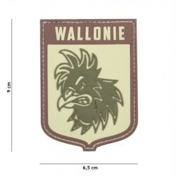 Patch 3D PVC Ecusson Wallonie Multicam (101 Inc)