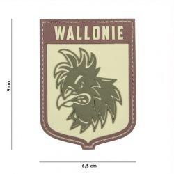 101 INC Patch 3D PVC Ecusson Wallonie Multicam AC-WP4441305395 Equipements