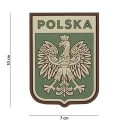 Patch 3D PVC Ecusson Pologne Multicam (101 Inc)