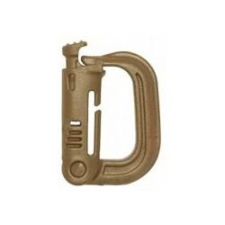 Grimloc Carabiner Dark Earth
